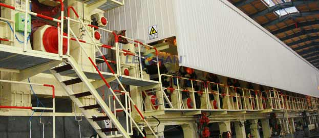Corrugating Carton Paper Production Plant
