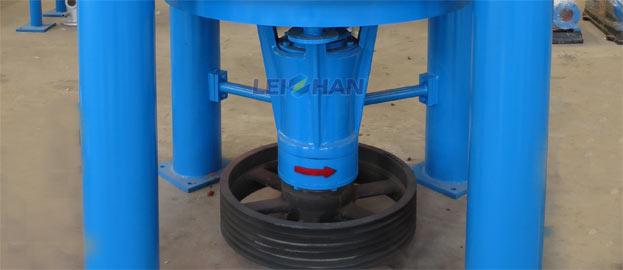 zdsg series high consistency hydrapulper rotor