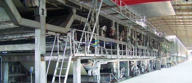 Cultural paper production line