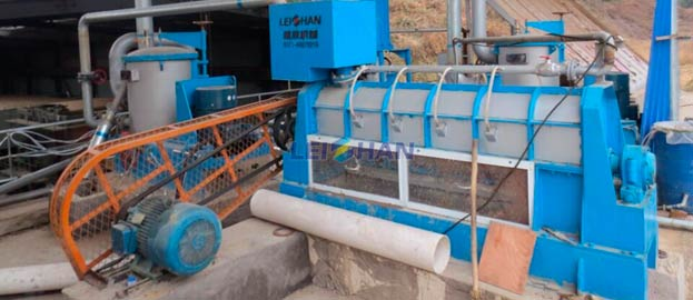 Reject Separator for 80T/18H Waste Paper Recycling Plant