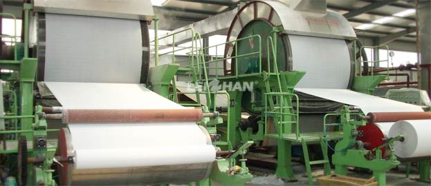 1880mm Toilet Paper Production Machine