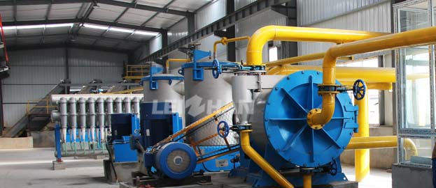 Paper Recycling Pulp Production Plant