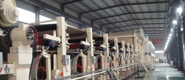 Three Layer Industrial Paper Tube Machine