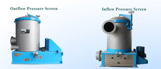 Difference Between Inflow And Outflow Pressure Screen