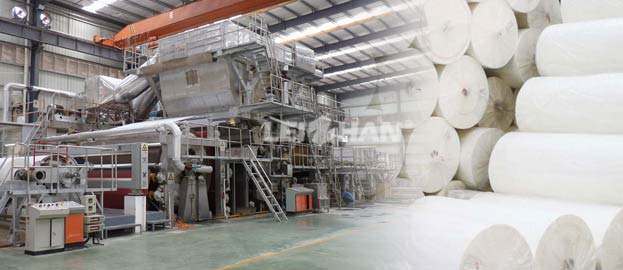 Facial Tissue Making Plant Turnkey Base