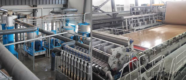 Complete 600T/D Waste Paper Recycling Plant