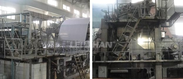 China 2000mm Culture Paper Making Machine
