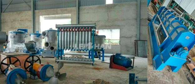 Paper Pulp Production Machinery for Vietnam Factory