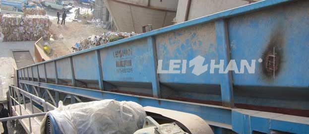 100tpd Two Layer Corrugated Paper Pulping Line