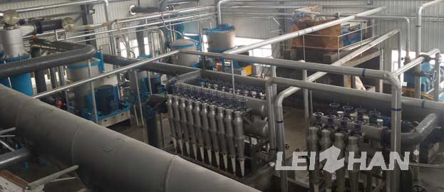 200t Craft Paper Pulping Preparation Line