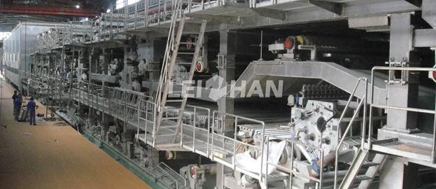 500tpd corrugatedkraft paper making line