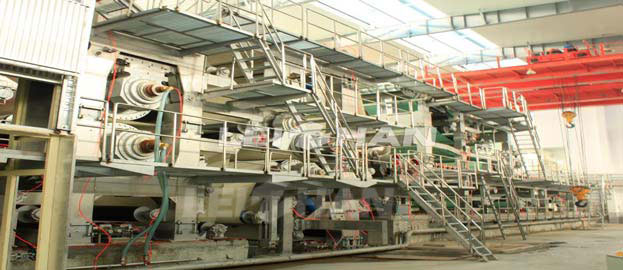 a4 paper machine making plant