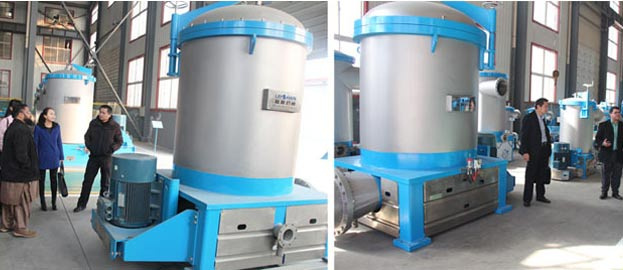inflow pressure screen in pulping process