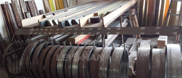 pulp doctor blade for paper making machine
