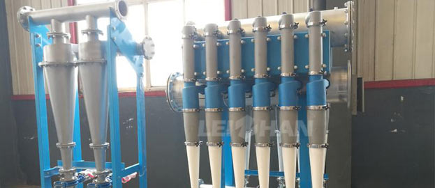 low density cleaner for paper pulping line