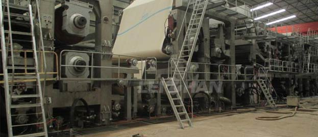 paper machine parts manufacturing requirement
