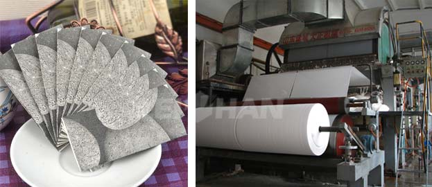 paper napkin manufacturing machine