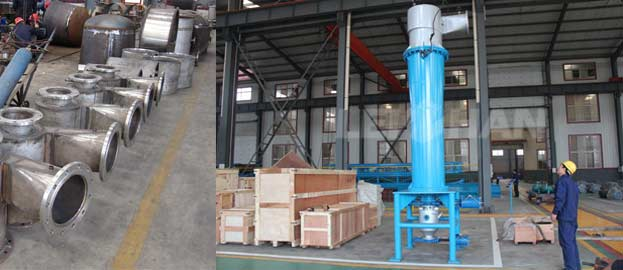pulp cleaning machine high density cleaner