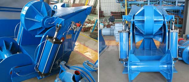 ragger for paper making line