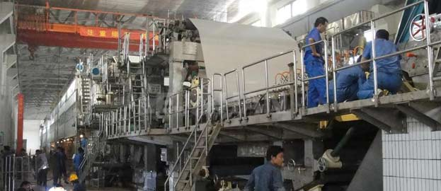 writing paper machine