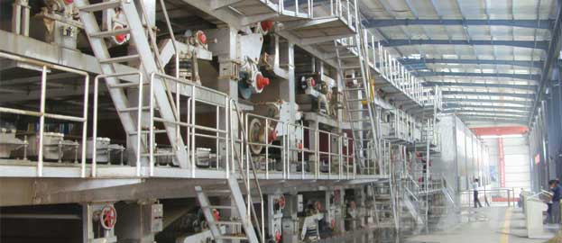4400 three wires cardboard paper machine