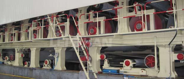 4600 corrugated paper machine