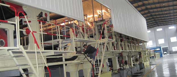 corrugated-paper-making-machine