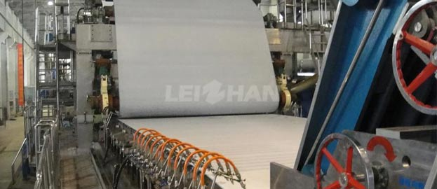 1575mm double wire single cyliner paper machine