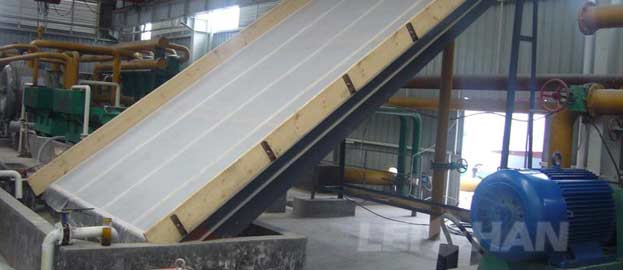 inclined screen mesh used for paper mill