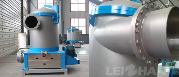 inflow pressure screen for pulp flow system