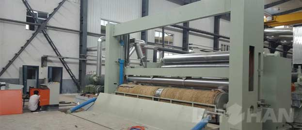 overfeed high-speed paper rewinder machine