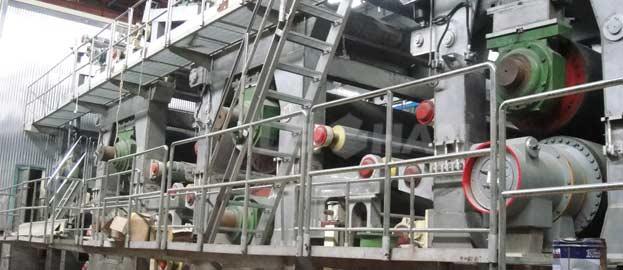 150tpd testliner paper machine