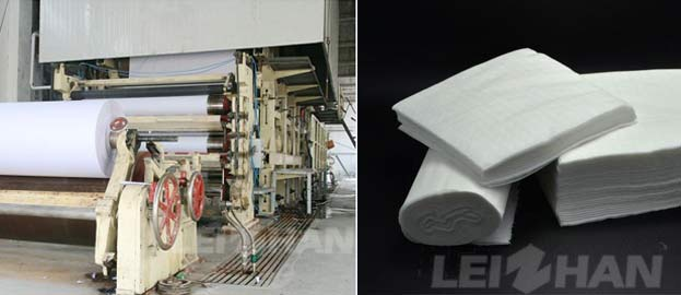 complete set of tissue paper manufacturing plant