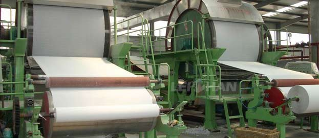 tissue napkin making machine