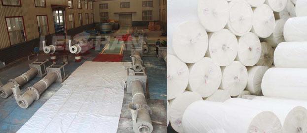 toilet paper pulp control