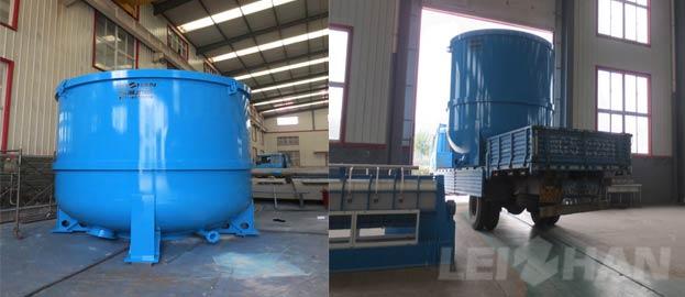 30t 18h waste paper deinking pulping line