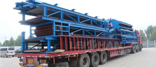 waste paper conveying machine chain conveyor