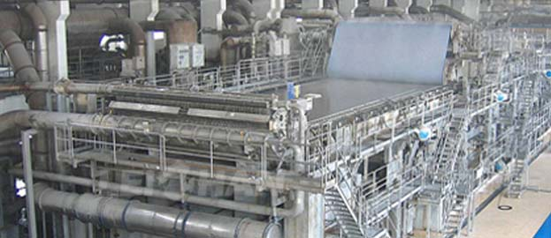 carbonless copy paper making machine