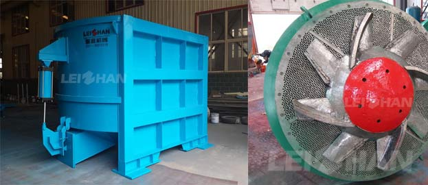 d type hydrapulper for recycle paper line