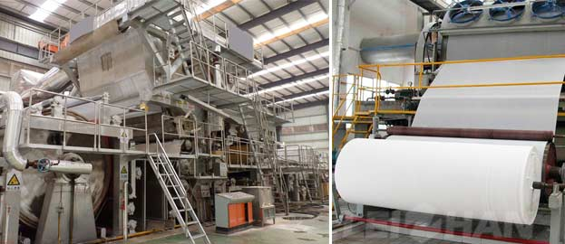 household paper manufacturing machine