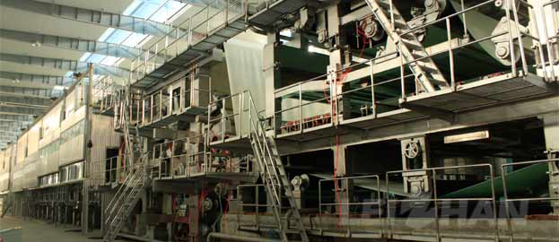 double fourdrinier layer multi-cylinder kraft paper making machine