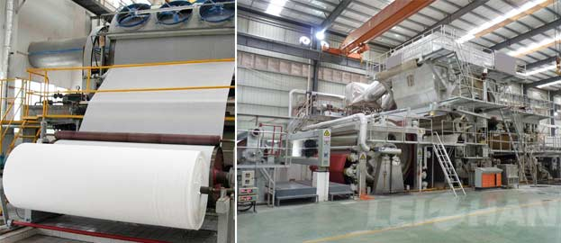25t 24h toilet tissue paper making machine
