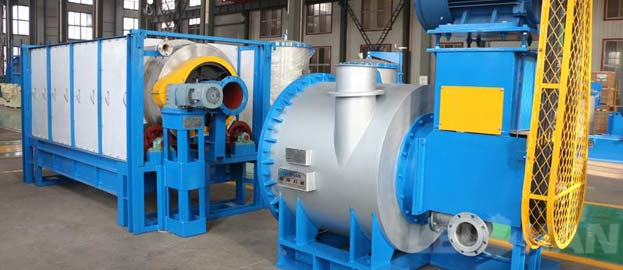 drum screen for waste paper recycling line