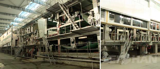 kraft liner board paper machine
