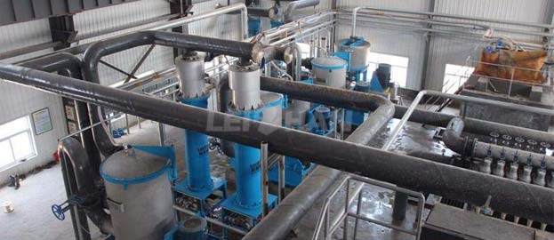 90t waste paper deinking production line
