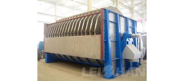 corrugated cylinder thickener