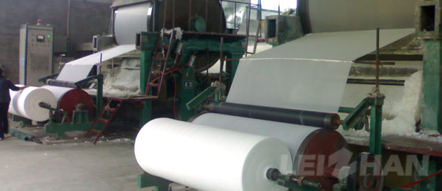 Small Range Tissue Toilet Paper Making Machine