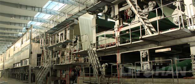 750t/d Kraft/Testliner Paper Machine