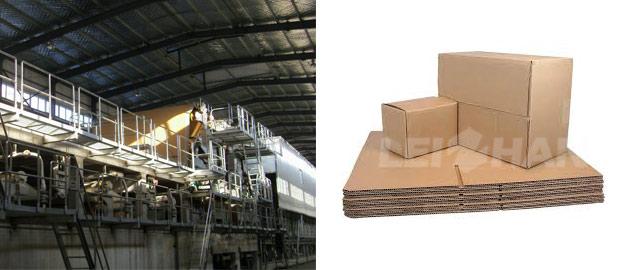 Corrugated Box Paper Pulp Plant