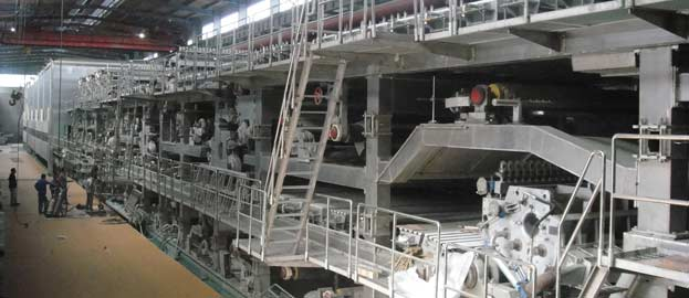 New Kraft Liner Paper Production Line-1575mm